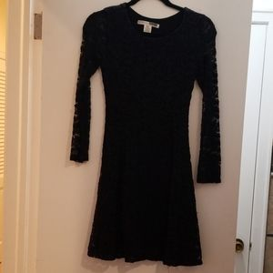 Black space dress